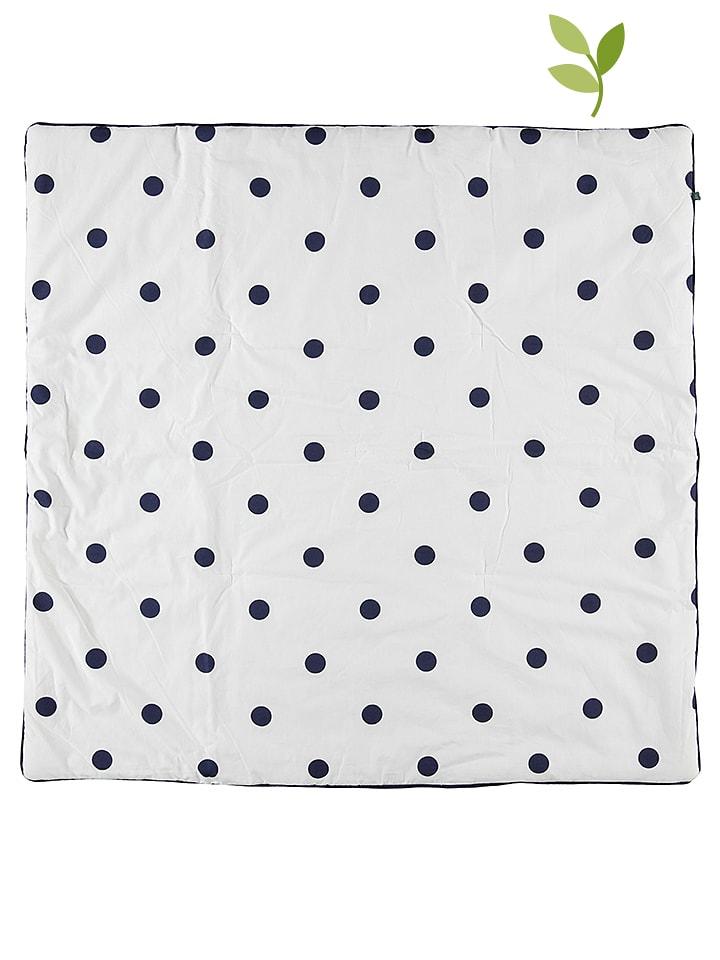 Green Cotton Decke in Weiß - 65%   Größe 100x10...