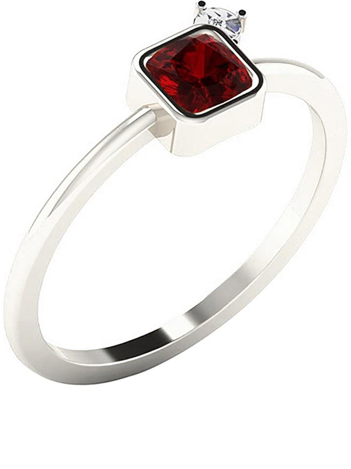 Art of Diamond Weißgold-Ring mit Diamant und sy...