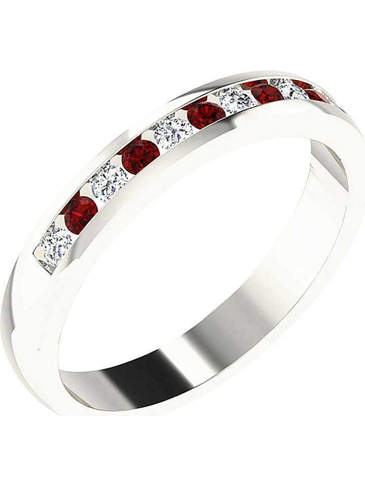 Art of Diamond Weißgold-Ring mit Diamanten und ...