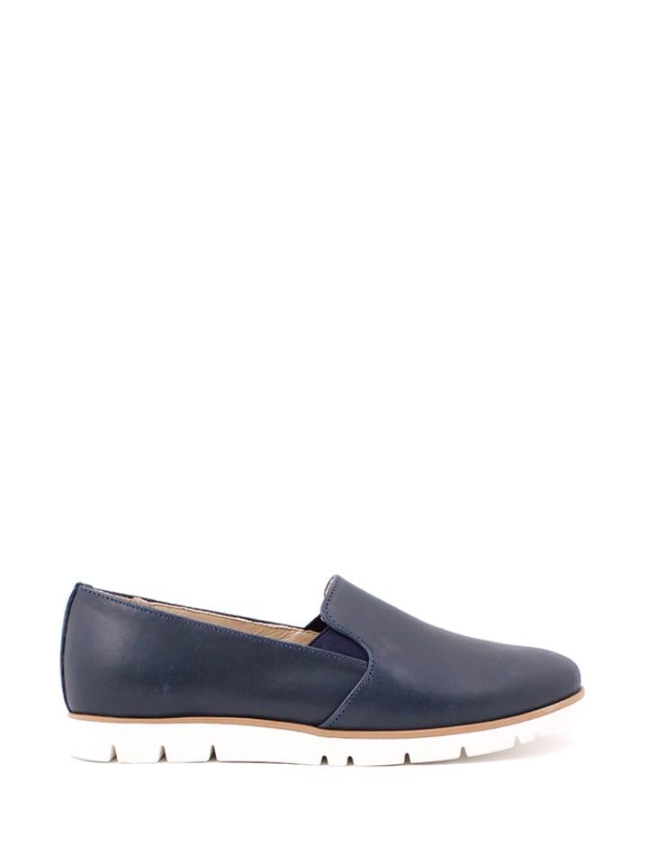 Zapato Leder-Slipper in Dunkelblau - 65% | Größ...