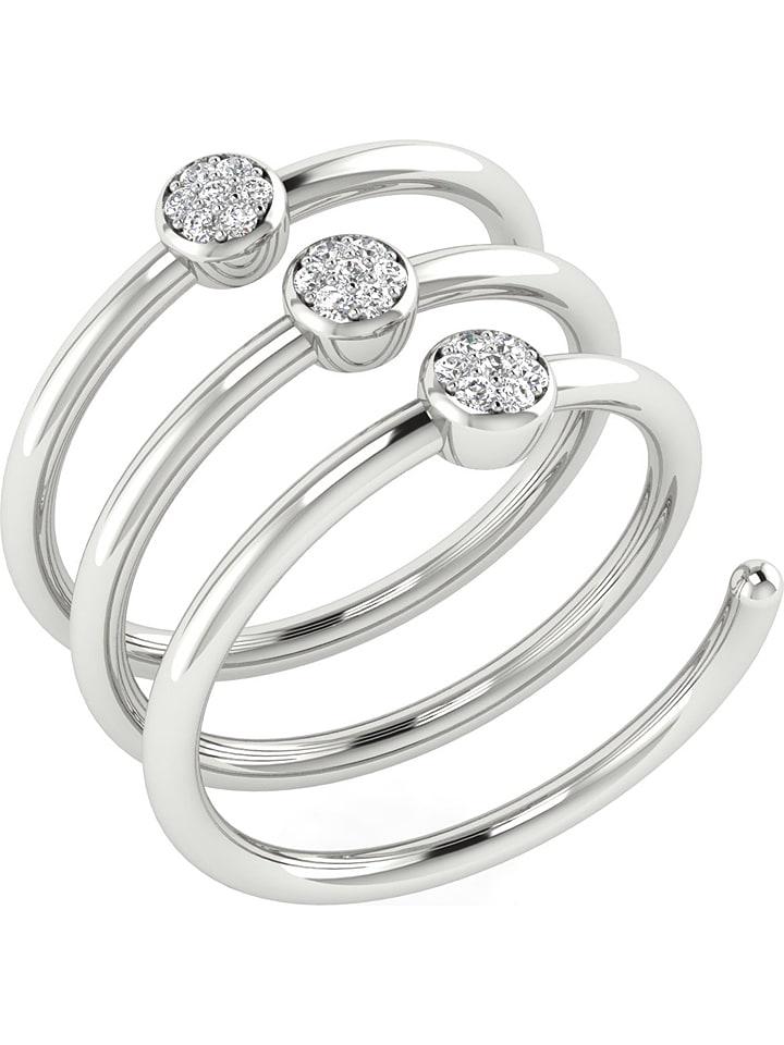 Art of Diamond Weißgold-Ring mit Diamanten - 67...