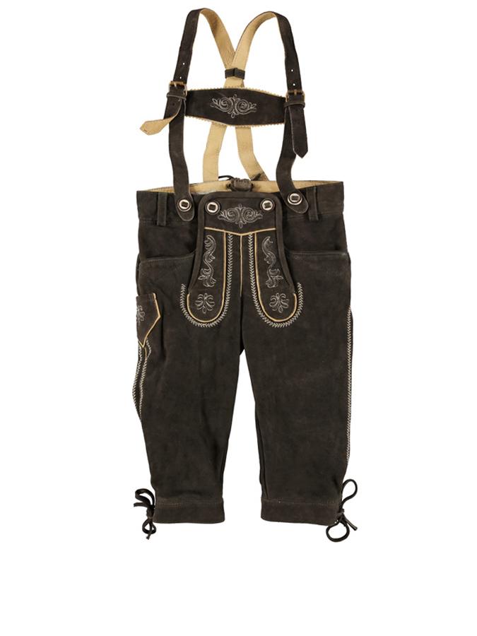 Lekra Fashion Lederhose ´´Hansi´´ in Dunkelbrau...