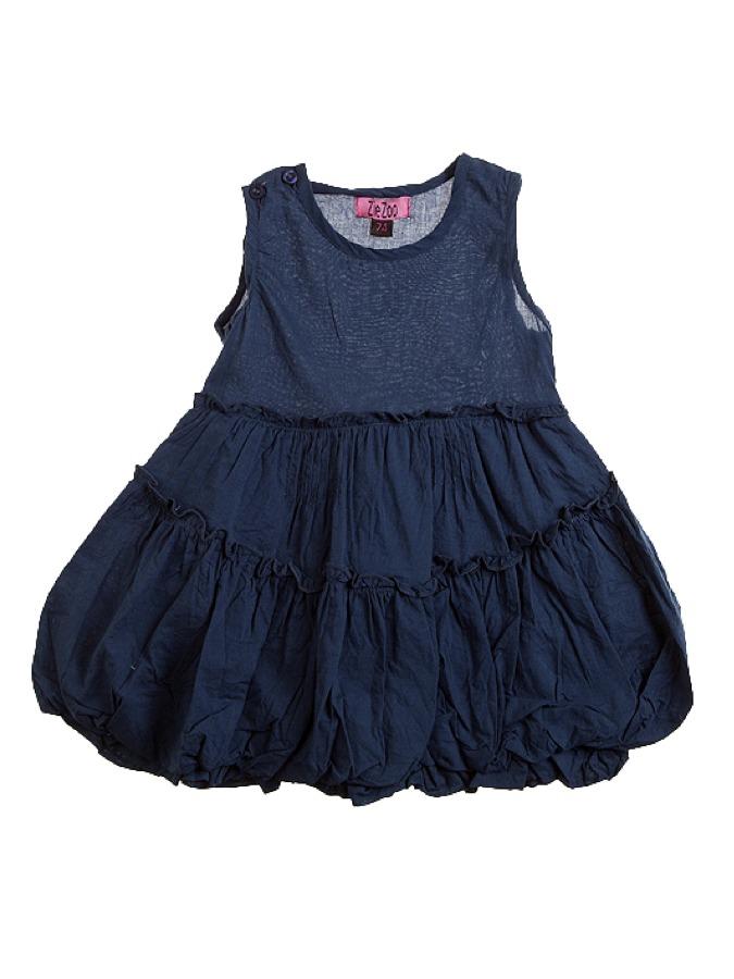 Ziezoo Kleid in dunkelblau -69% | Größe 56 | Knielange Kleider