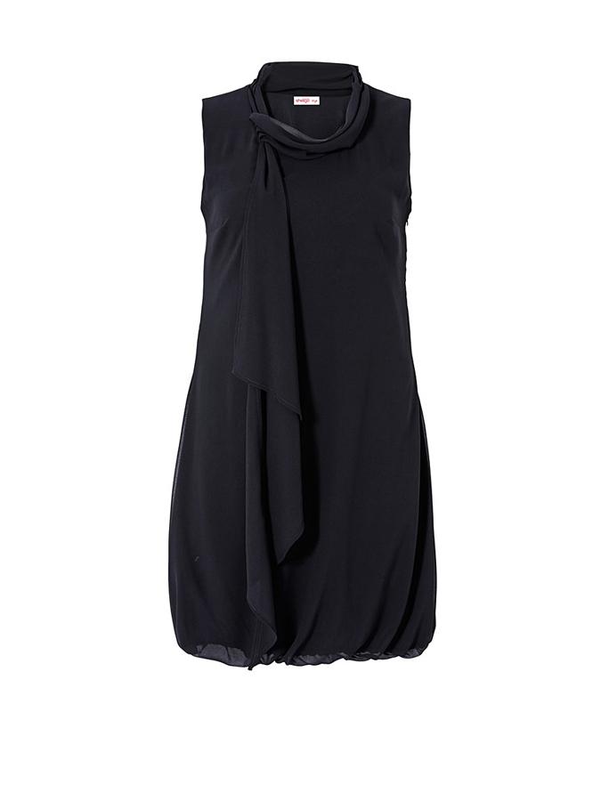 Sheego Kleid in Schwarz -66% | Größe 48 | Etuikleider