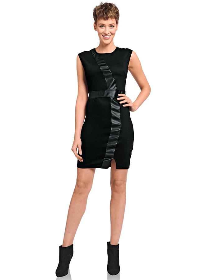 Heine Kleid in Schwarz -65% | Größe 38 | Etuikleider