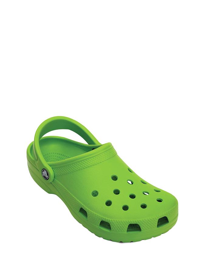 "Crocs Clogs ""Classic"" in Grün"