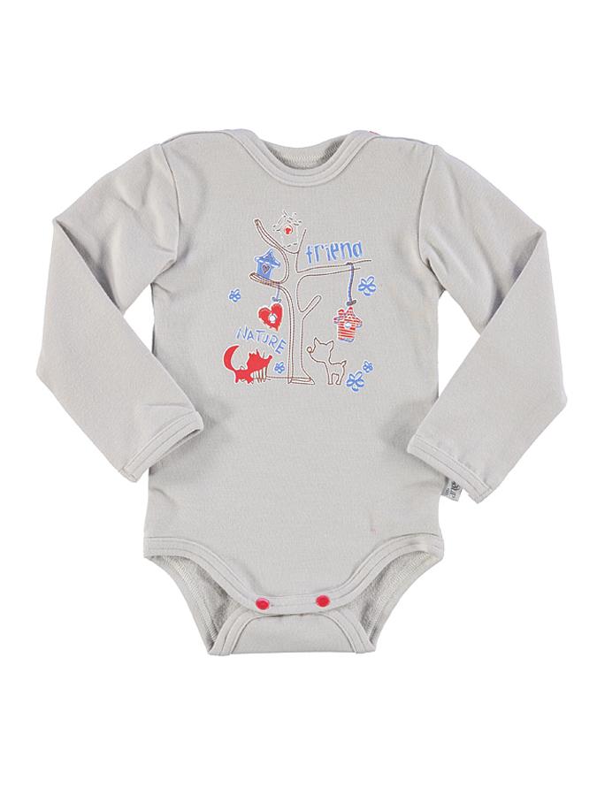 Little Angel Body ´´Fox´´ in Beige - 54% | Größe 68 Baby bodys jetztbilligerkaufen