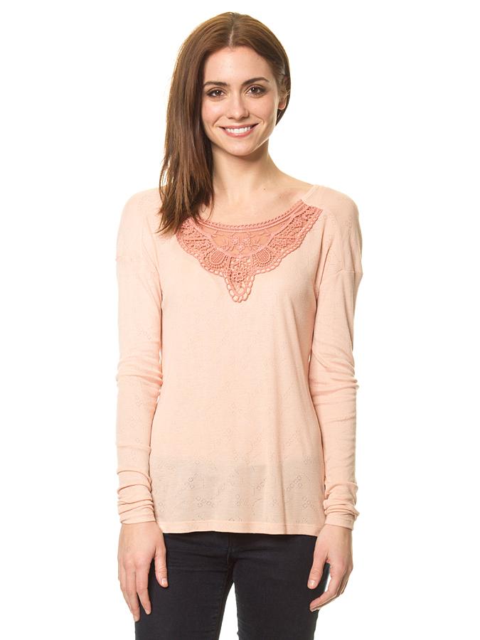 Blutsgeschwister Shirt ´´Flattering Romance´´ in Beige - 59% | Größe XL Damen tops