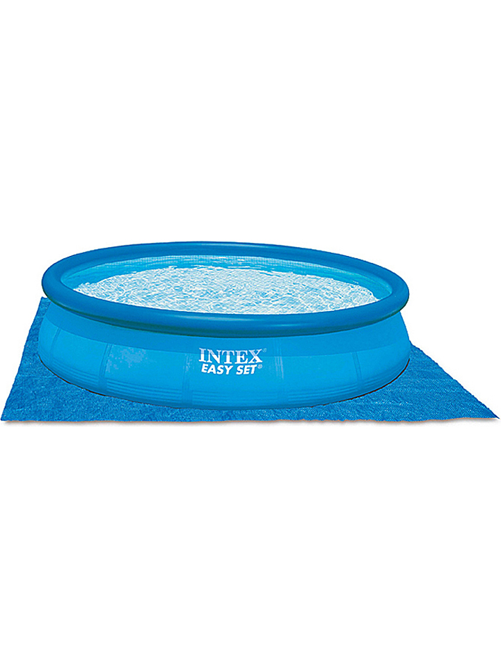 Intex Bodenschutzplane in Blau - (L)472 x (B)472 cm -55% | Pools