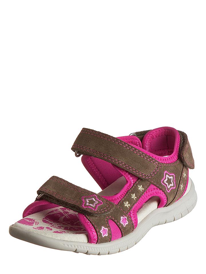 Indigo Leder-Sandalen in Braun - 56% | Größe 31 Kindersandalen jetztbilligerkaufen