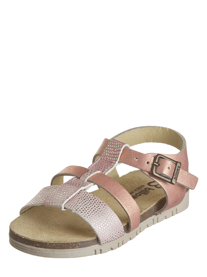 Billowy Leder-Sandalen in Rosa - 71% | Größe 24 Kindersandalen jetztbilligerkaufen