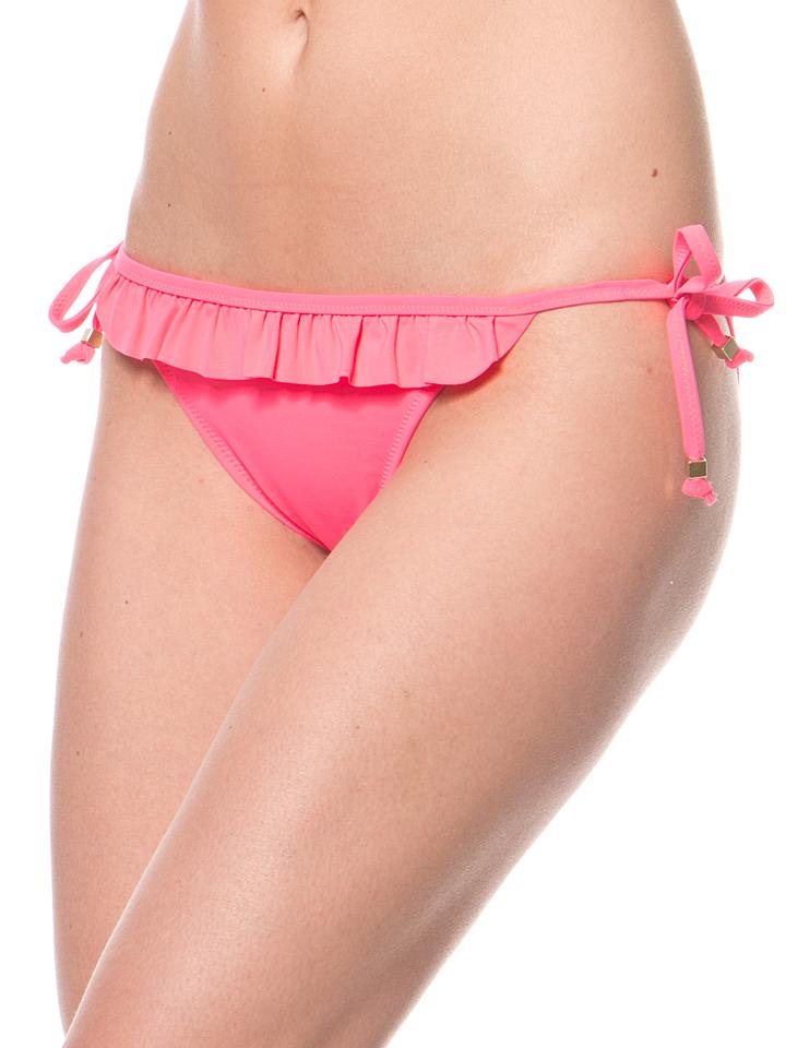 Mariemeili Bikini-Slip in Neonpink -62% | Größe XXL Bikini