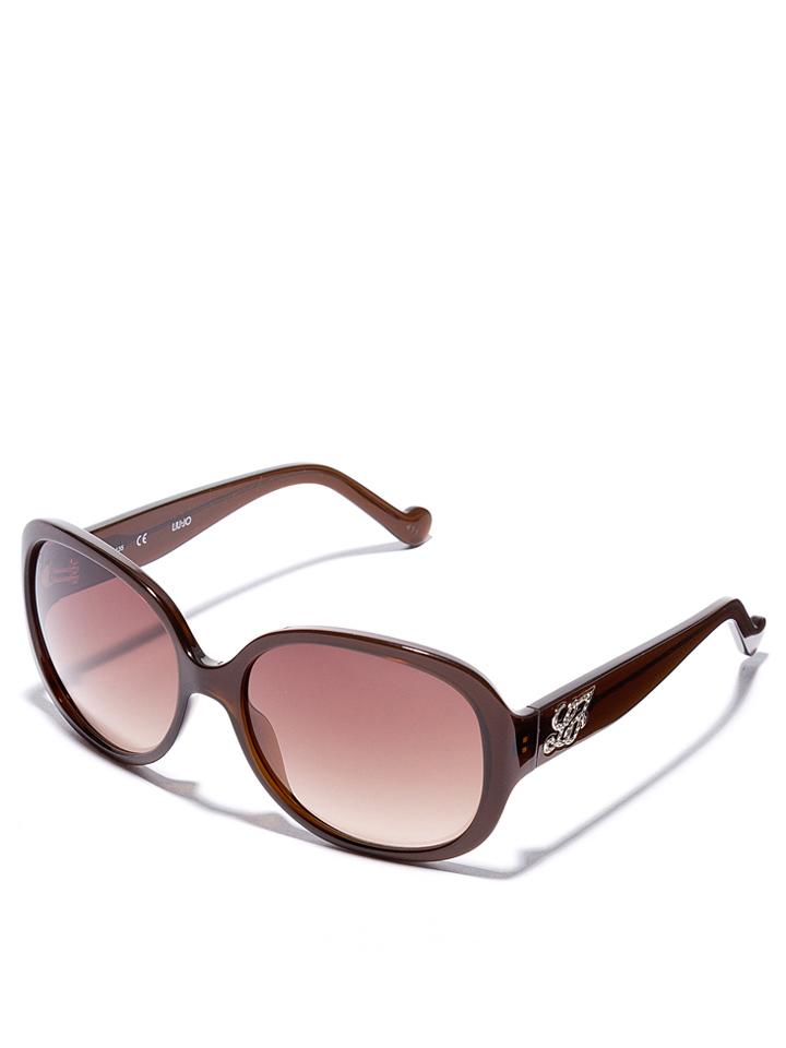 Liu Jo Damen-Sonnenbrille in Braun -51 Größe 59 Sonnenbrillen