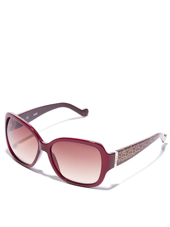 Liu Jo Damen-Sonnenbrille in Dunkelrot -51 Größe 58 Sonnenbrillen