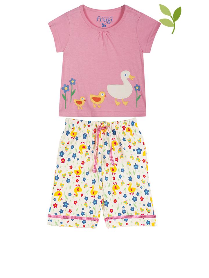 Frugi Pyjama ´´Little Summer´´ in rosa -47 Größe 50-62 Pyjamas