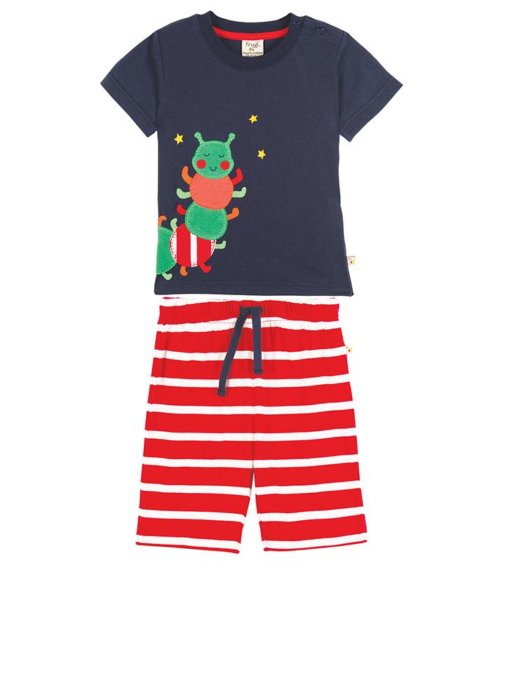 Frugi Pyjama ´´Little Summer´´ in dunkelblau -72 Größe 50-62 Pyjamas