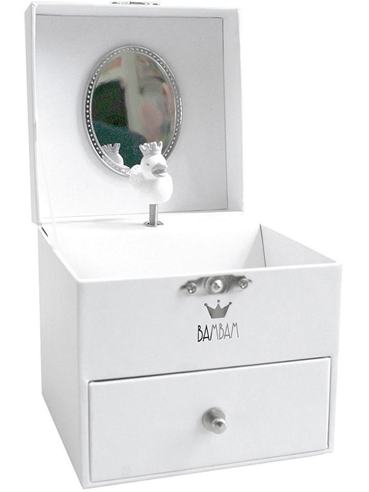 Ortrand Angebote BamBam Schmuckkästchen in Weiß - (B)11 x (H)11 (T)11 cm 23% | Aufbewahrung