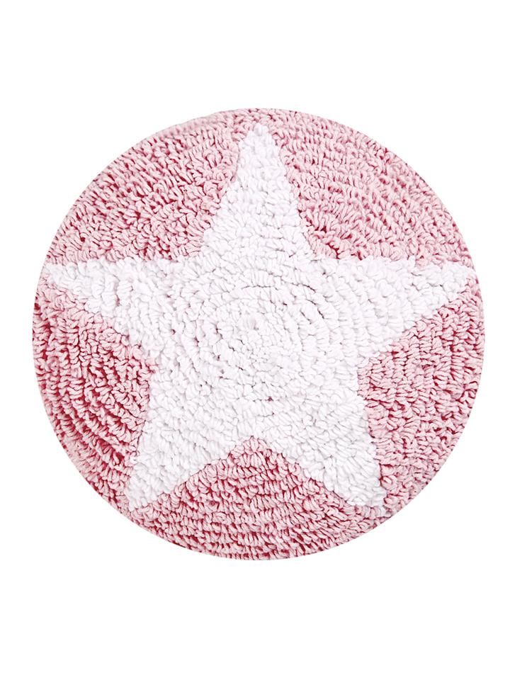 Happy Decor Kids Kissen ´´Star´´ in rosa -51%   Größe 30x30 cm Sale Angebote Gastrose-Kerkwitz