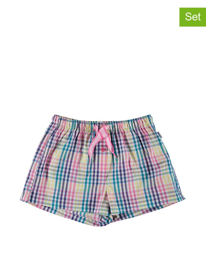 Schiesser 2er-Set Pyjamashorts in Dunkelblau -60 Größe 176 Pyjamas