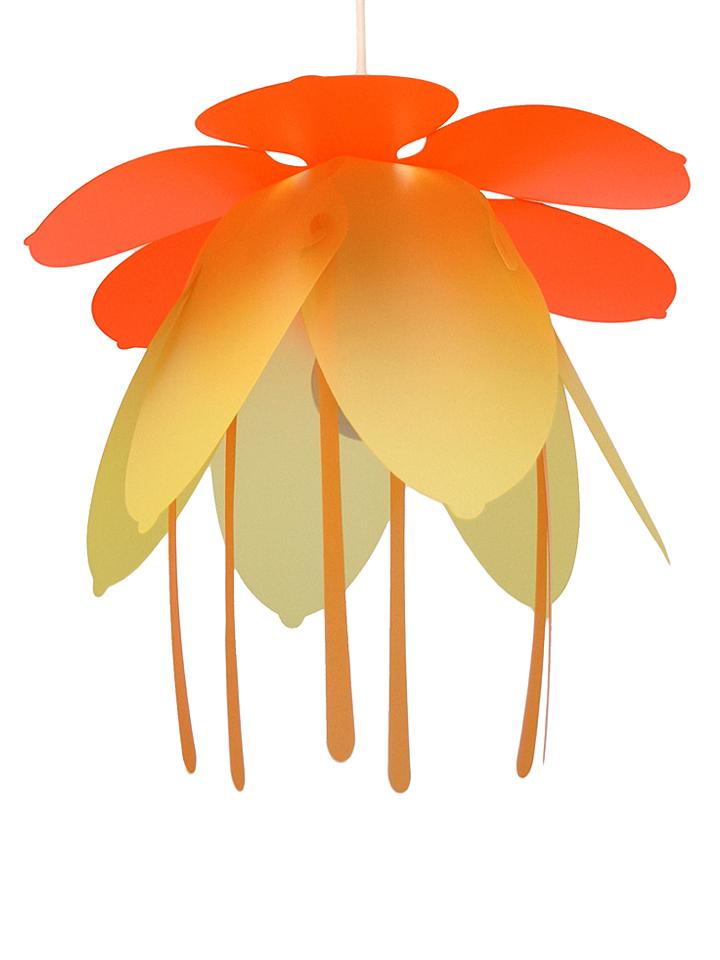 R&M COUDERT Hängeleuchte ´´Flower´´ in Orange - EEK A++ Ø 38 cm 55% | Kinder moebel