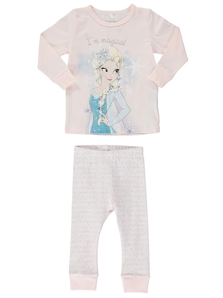 Name it Pyjama ´´Frozen´´ in Rosé/ Hellblau -36% | Größe 92 Pyjamas Sale Angebote Horka