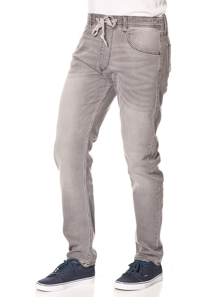Cross Jeans ´´Zac´´ - Loose fit in Grau -53%   Größe W32/L32 Sale Angebote Gastrose-Kerkwitz