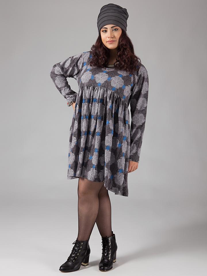 Aller Simplement Kleid in Grau -67% | Größe 46/48 Kleider