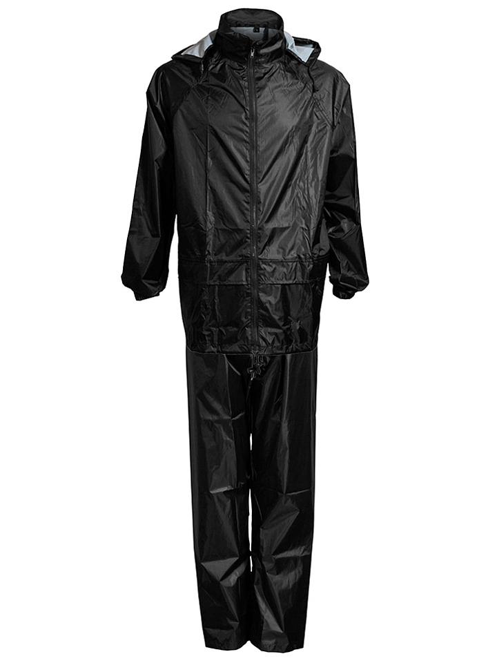 Elka Rainwear 2tlg. Regenoutfit in Schwarz -41%   Größe S Regenjacken Sale Angebote Wiesengrund