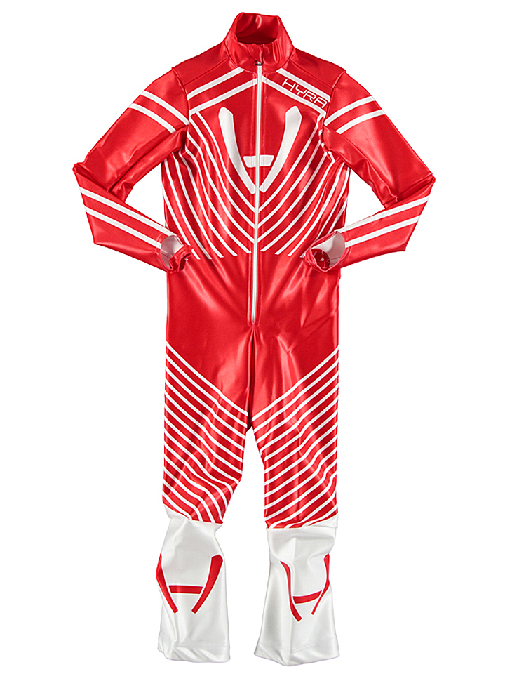 Hyra Racing-Anzug in Rot - 42% | Größe 140 Kinderjacken