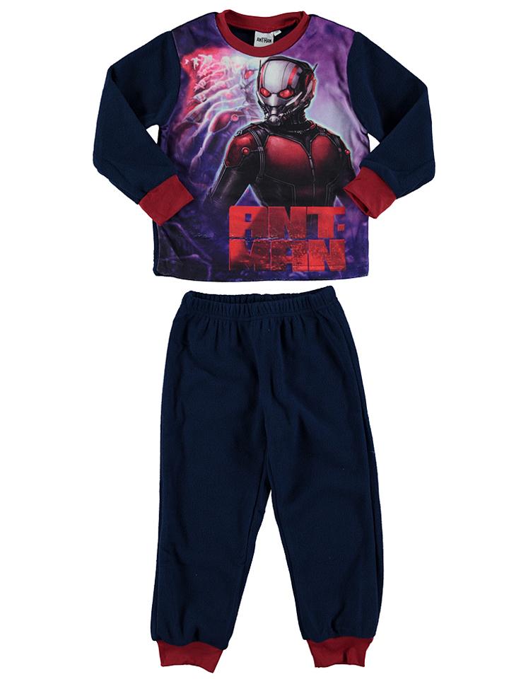 Ant-Man Fleecepyjama ´´Ant Man´´ in dunkelblau -64 Größe 104 Pyjamas