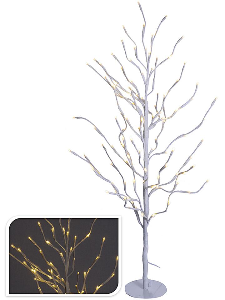 - LED-Baum in Weiß - (H)90 cm - 53% | Weihnacht...