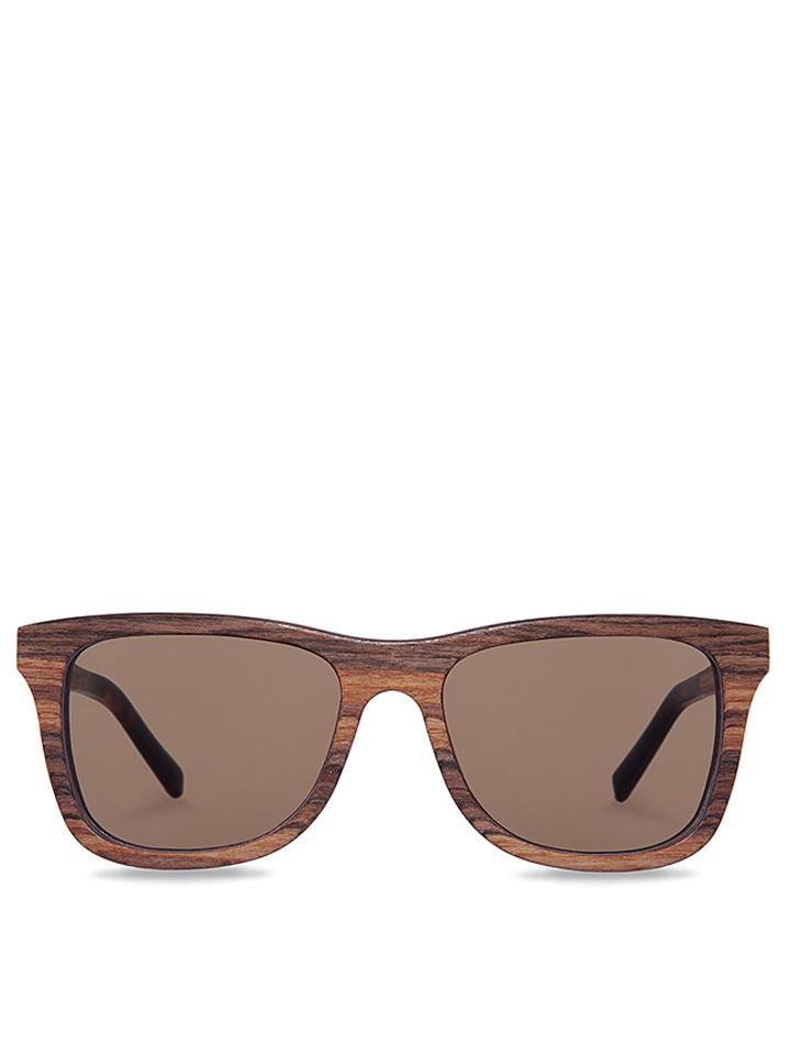 Kerbholz Unisex-Sonnenbrille ´´Justus´´ in Braun - 61% | Damen sonnenbrillen - broschei