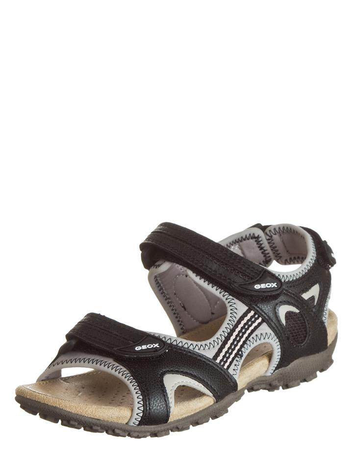 Geox Sandalen in Schwarz - 39% | Größe 36 Damen sandalen
