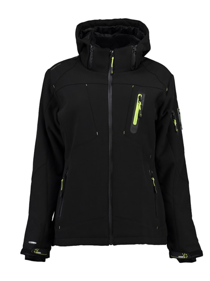 Geographical Norway Softshelljacke ´´Tapas´´ in Schwarz - 65% | Größe S Damen outdoorjacken