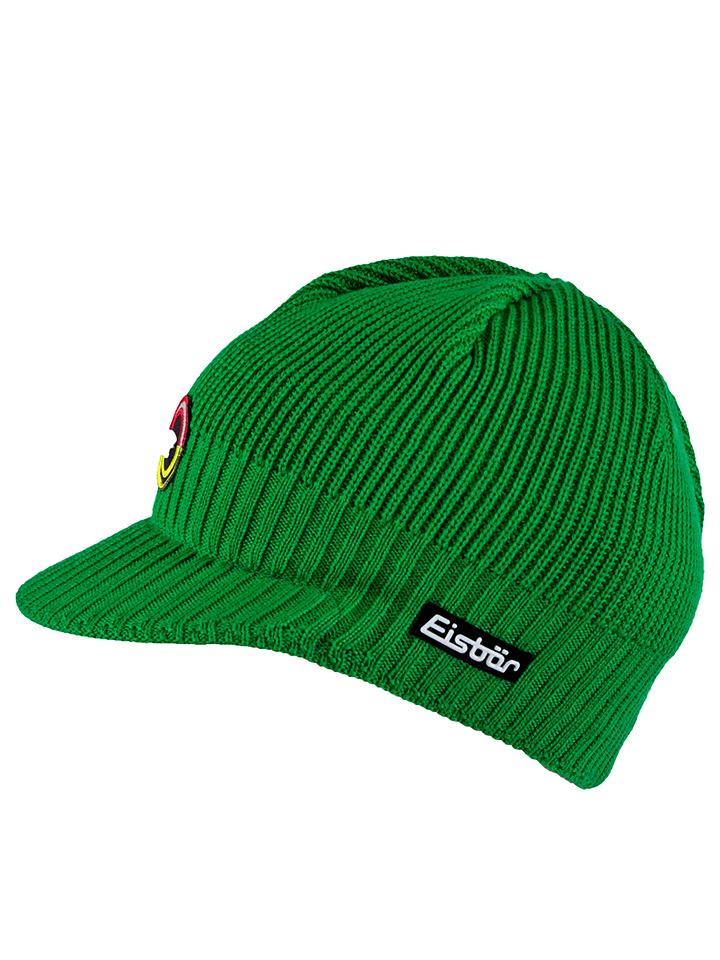 Eisbär Mütze ´´Paul * Retro´´ in Grün - 34% | Herren muetzen caps