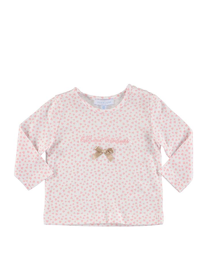 Louis Louisa Shirt ´´Süß und Verträumt´´ in rosa -30 Größe 56 62 Nachtwäsche
