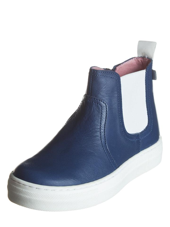 BO-BELL Leder-Boots in Dunkelblau -52% | Größe 29 Boots Sale Angebote Bagenz