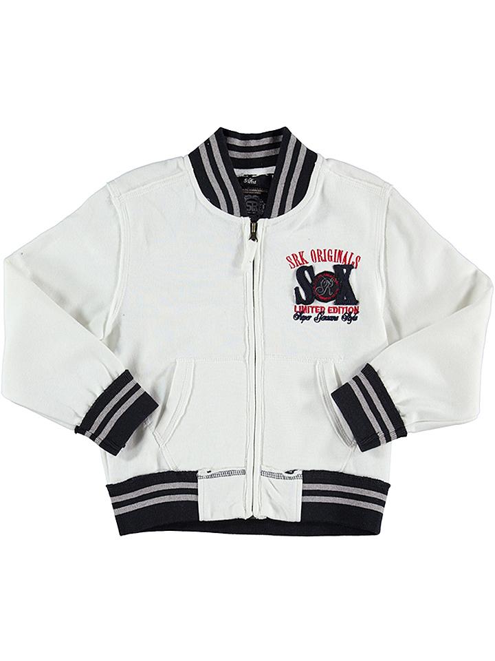 SRK Sweatjacke in creme -53%   Größe 134/140 Sweatjacken Sale Angebote Hohenbocka