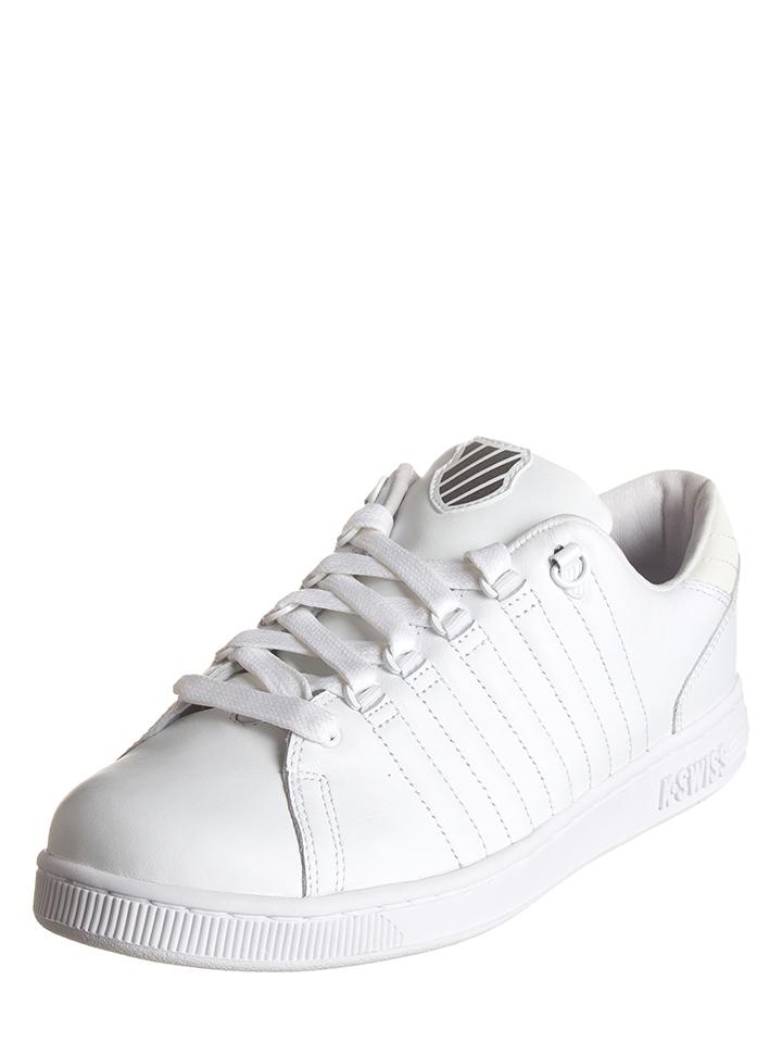 K-SWISS Leder-Sneakers ´´Lozan III´´ in Weiß -65% | Größe 41,5 Sneaker Low Sale Angebote Wiesengrund