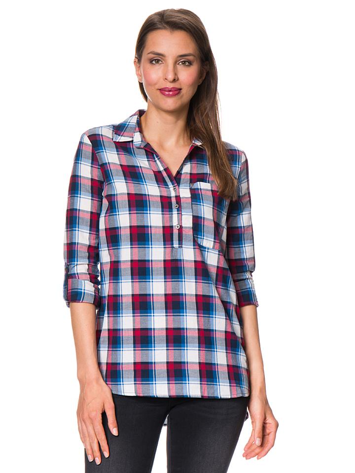 Mavi Jeans Bluse in blau -51% | Größe M Casual Hemden Sale Angebote Schwarzheide