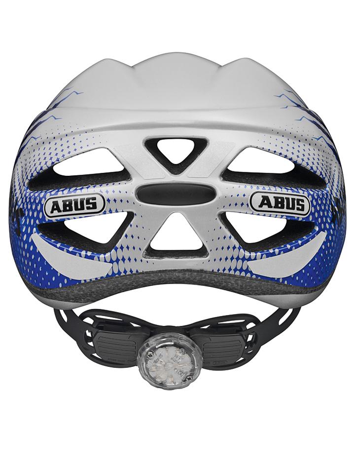 ABUS Fahrradhelm ´´Hubble´´ in Hellgrau -36% | Größe 46-52 cm Helme Sale Angebote Dissen-Striesow