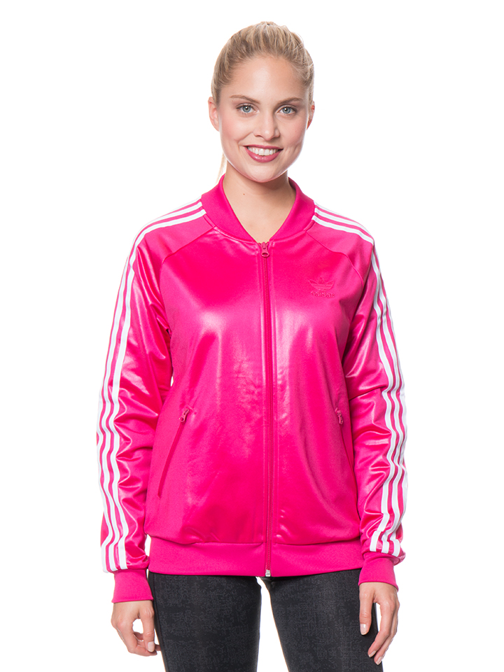 Adidas Trainingsjacke in Pink - 32% | Größe 42 Damen outdoorjacken