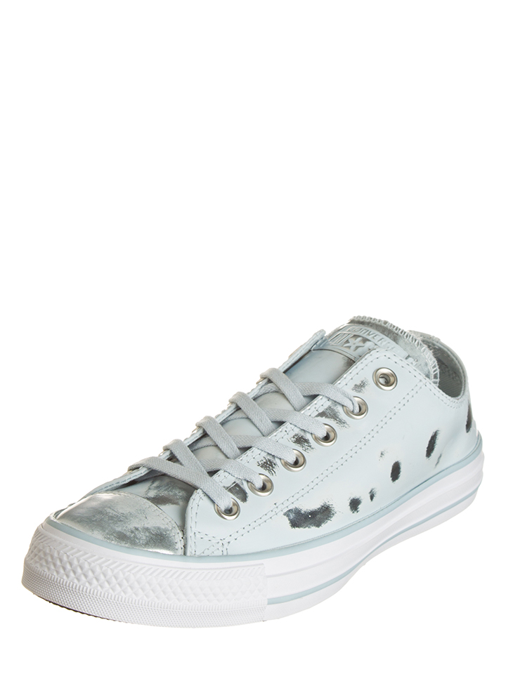 Converse Leder-Sneakers ´´Ctas Brush´´ in Hellbllau - 65% | Größe 41,5 Damen sneakers
