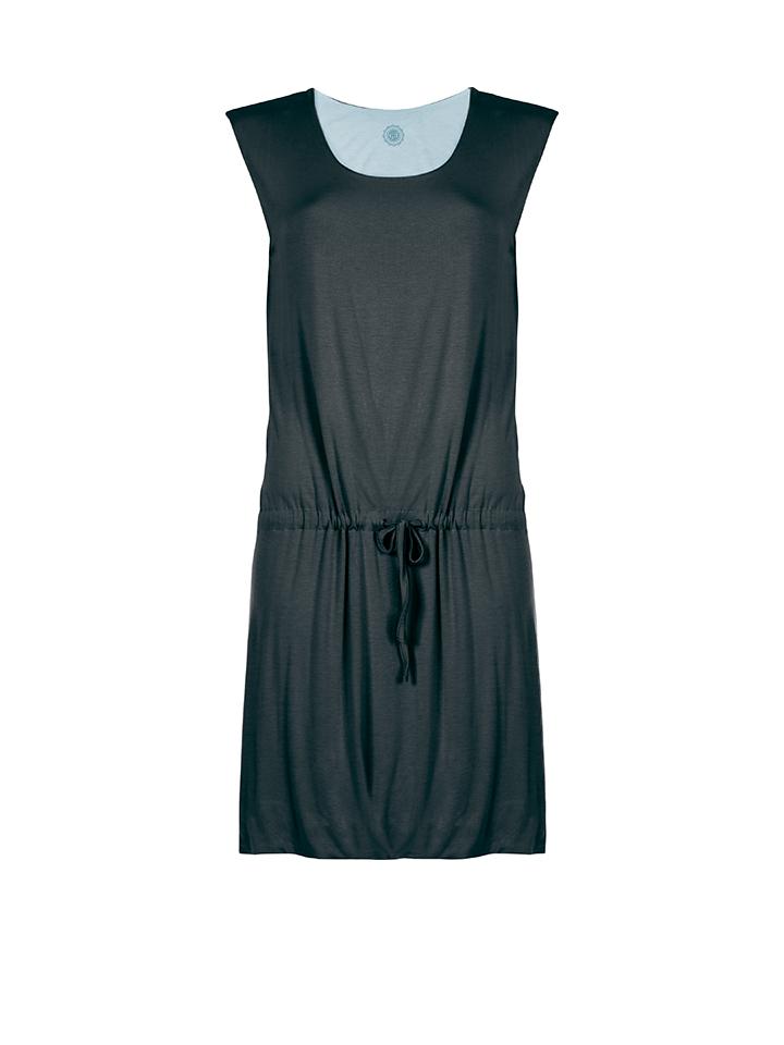 Poivre Blanc Kleid in anthrazit -48% | Größe L Kurze Kleider Sale Angebote Schwarzheide