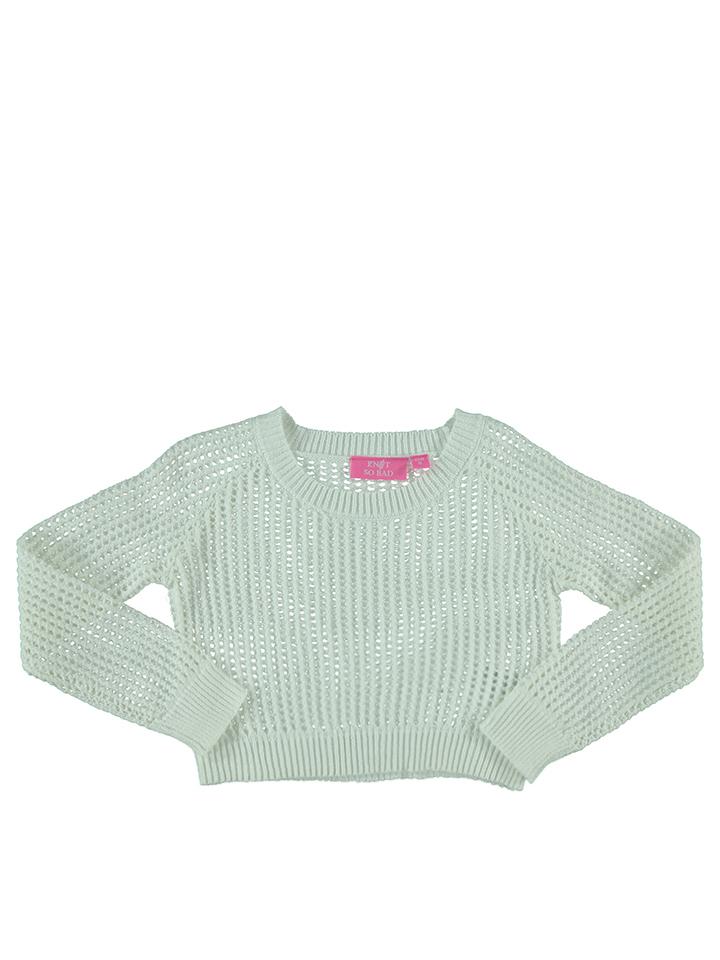 Knot so bad Pullover in Weiß -45% | Größe 164 Sale Angebote