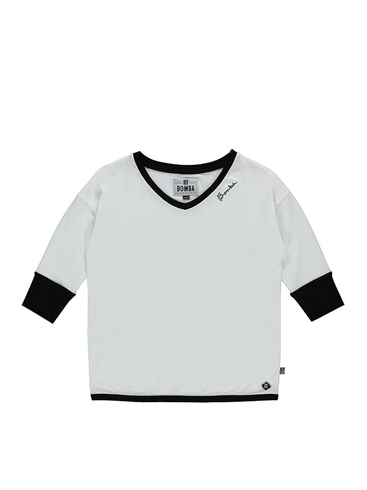 BOMBA FOR GIRLS Longsleeve in weiß -73 Größe 146 152 Cardigans