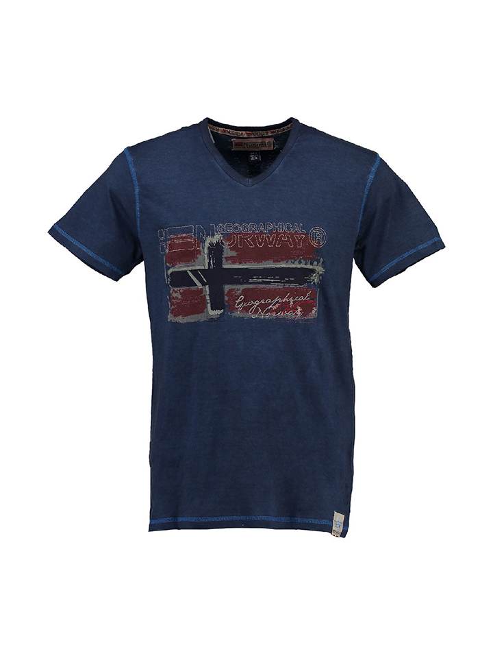Geographical Norway Shirt ´´Jacolino´´ in Dunkelblau -54% | Größe 128 T-Shirts Sale Angebote