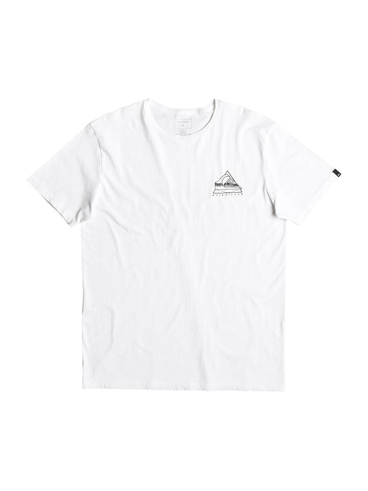 Quicksilver Shirt ´´Solstice´´ in Weiß -48%   Größe XXL T-Shirts Sale Angebote Wiesengrund