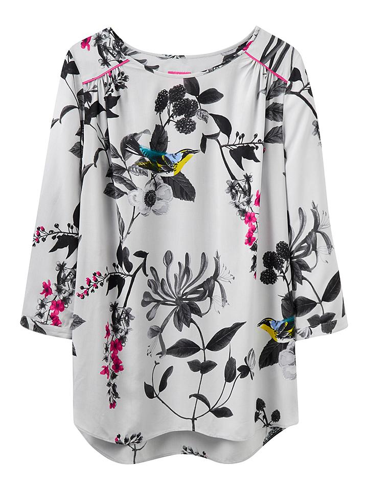 Tom Joule Shirt ´´Hope´´ in grau -61%   Größe 42 Langarm Tops Sale Angebote Wiesengrund