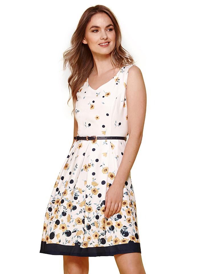 Yumi Kleid in creme -67% | Größe 38 Kurze Kleider Sale Angebote Lieskau